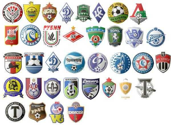Эмблемы немецких футбольных команд