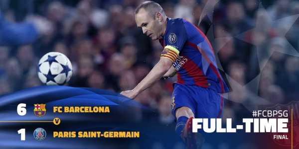 Барселона псж смотреть на тв