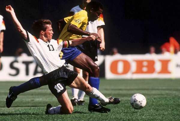 Оливер бирхофф 1968, немецкий футболист, нападающий« милана»